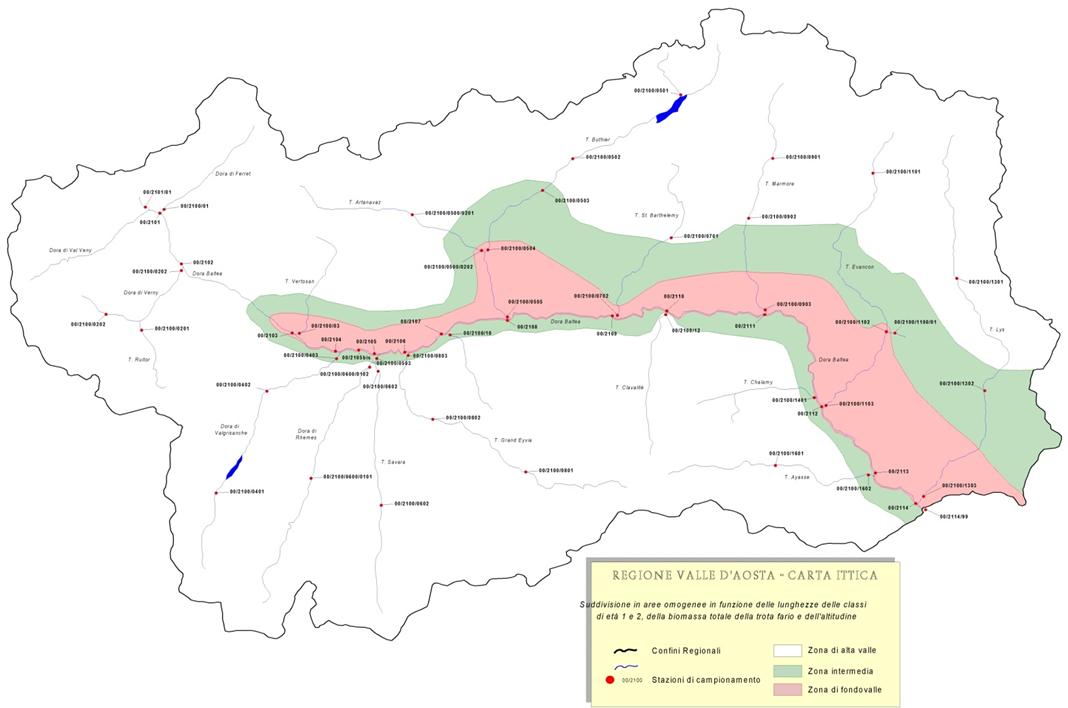 Cartina Fiumi Valle D Aosta.Arpa Valle D Aosta